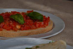 oryginalna włoska bruschetta